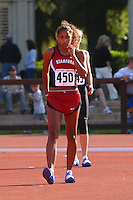 4 May 2008: Stanford Cardinal Tessa Flippin during Stanford's Payton Jordan Cardinal Invitational at Cobb Track & Angell Field in Stanford, CA.