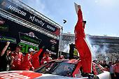 #18: Ryan Preece, Joe Gibbs Racing, Toyota Camry Rheem wins.