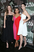 """LOS ANGELES - FEB 25:  Rachel Boston, Toni Trucks, and Jessica Pare at the """"Seal Team"""" Screening at the ArcLight Hollywood on February 25, 2020 in Los Angeles, CA"""