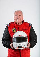 Feb 6, 2020; Pomona, CA, USA; NHRA pro stock driver Tom Huggins poses for a portrait during NHRA Media Day at the Pomona Fairplex. Mandatory Credit: Mark J. Rebilas-USA TODAY Sports