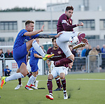 18.07.18 Cove Rangers v Hearts:  Kyle Lafferty attempts a dink