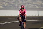 Lawson G Craddock (USA) EF Education-Nippo on the final climb of Stage 3 of the 2021 UAE Tour running 166km from Al Ain to Jebel Hafeet, Abu Dhabi, UAE. 23rd February 2021.  <br /> Picture: Eoin Clarke | Cyclefile<br /> <br /> All photos usage must carry mandatory copyright credit (© Cyclefile | Eoin Clarke)