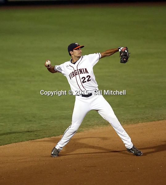 Daniel Pinero - 2015 Virginia Cavaliers (Bill Mitchell)