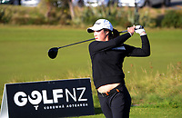Sumin Kang. Day one of the Renaissance Brewing NZ Stroke Play Championship at Paraparaumu Beach Golf Club in Paraparaumu, New Zealand on Thursday, 18 March 2021. Photo: Dave Lintott / lintottphoto.co.nz