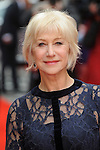 NON EXCLUSIVE PICTURE: PAUL TREADWAY / MATRIXPICTURES.CO.UK<br /> PLEASE CREDIT ALL USES<br /> <br /> WORLD RIGHTS<br /> <br /> British actress Dame Helen Mirren attending the UK premiere of 'Eye In The Sky', at London's Curzon Mayfair.<br /> <br /> APRIL 11th 2016<br /> <br /> REF: PTY 16977
