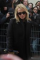 Estelle LefÈbure - ArrivÈes au dÈfilÈ 'Dior' au MusÈe Rodin lors de la Fashion Week de Paris, le 03/03/2017. # LES PEOPLE ARRIVENT AU DEFILE 'DIOR' - FASHION WEEK DE PARIS