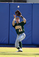 North Dakota State Bisons Nick Anderson #24 during a game vs Bradley Braves at Chain of Lakes Park in Winter Haven, Florida;  March 17, 2011.  Bradley defeated North Dakota State 6-5.  Photo By Mike Janes/Four Seam Images