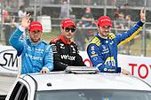 Ed Jones, Chip Ganassi Racing Honda, Will Power, Team Penske Chevrolet, Alexander Rossi, Andretti Autosport Honda
