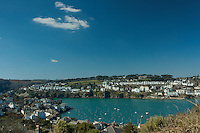 Fowey and the River Fowey from Polruan, Cornwall