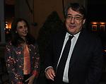 ROBERTO NAPOLETANO CON LA MOGLIE<br /> PREMIO GUIDO CARLI - QUARTA EDIZIONE<br /> RICEVIMENTO HOTEL MAJESTIC ROMA 2013