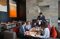 Europe/France/Rhône-Alpes/74/Haute-Savoie/Évian-les-Bains: Restaurant: Le Riva  de l'Hôtel Hilton [Non destiné à un usage publicitaire - Not intended for an advertising use]