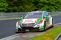 Race of Germany Nürburgring Nordschleife 2016 Free training 2 WTCC 2016 #12 TC1 Honda Racing Team JAS. Honda Civic WTCC Rob Huff (GBR) © 2016 Musson/PSP. All Rights Reserved.