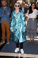 Rose McGowan<br /> front row at the Pam Hogg London Fashion Week SS18 catwalk show, London<br /> <br /> ©Ash Knotek  D3431  14/09/2018