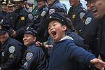 Chinese New Years Parade down Market Street, San Francisco, CA.