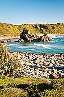 Rugged coastat Cape Foulwind - Buller Region, Central West Coast, New Zealand
