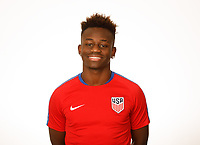 LAKEWOOD RANCH, FL : The U.S. U-20 Men's National Team headshots at Premiere Sports Complex in Lakewood Ranch, Fla., on January 4, 2018. (Photo by Casey Brooke Lawson)