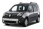 Front three quarter view of a 2013 - 2014 Renault Kangoo eXtrem Mini MPV Stock Photo