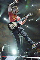 Fall Out Boy's Joseph Trohman performs in concert at the Convocation Center, in Coral Gables Florida, <br /> <br /> Must call if interested <br /> Michael Storms Media Group Inc.<br /> 305-632-3400 - Cell<br /> MikeStorm@aol.com