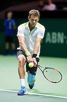 Februari 09, 2015, Netherlands, Rotterdam, Ahoy, ABN AMRO World Tennis Tournament, Paul-Henri Mathieu (FRA)<br /> Photo: Tennisimages/Henk Koster