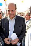 PIERLUIGI BERSANI<br /> MANIFESTAZIONE PER LA LIBERTA' DI STAMPA PROMOSSA DAL FNSI<br /> PIAZZA DEL POPOLO ROMA 2009