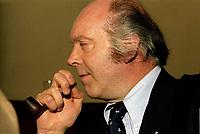 Claude Morin<br /> , 16 janvier 1979<br /> <br /> PHOTO : Agence Quebec Presse