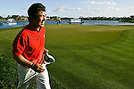 PALM BEACH GARDENS, FL. - Y.E. Yang after winning the 2009 Honda Classic - PGA National Resort and Spa in Palm Beach Gardens, FL. on March 8, 2009.