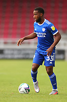 5th September 2020; PTS Academy Stadium, Northampton, East Midlands, England; English Football League Cup, Carabao Cup, Northampton Town versus Cardiff City; Junior Hoilett of Cardiff City