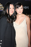 BEVERLY HILLS, CA - FEBRUARY 27: Marsha Garces Williams, Zelda Williams at the 3rd Annual Noble Awards at the  Beverly Hilton Hotel in Beverly Hills, California on February 27, 2015. Credit: David Edwards/DailyCeleb/MediaPunch