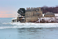 View from Niagara on the Lake of Fort Niagara