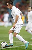 France's national team Franck Ribéry during match. October 16, 2012. (ALTERPHOTOS/Alvaro Hernandez) /NORTEPhoto