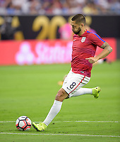 Houston, TX - Tuesday June 21, 2016: Clint Dempsey prior to a Copa America Centenario semifinal match between United States (USA) and Argentina (ARG) at NRG Stadium.