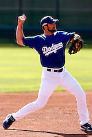 Casey Blake - Los Angeles Dodgers - 2009 spring training.Photo by:  Bill Mitchell/Four Seam Images