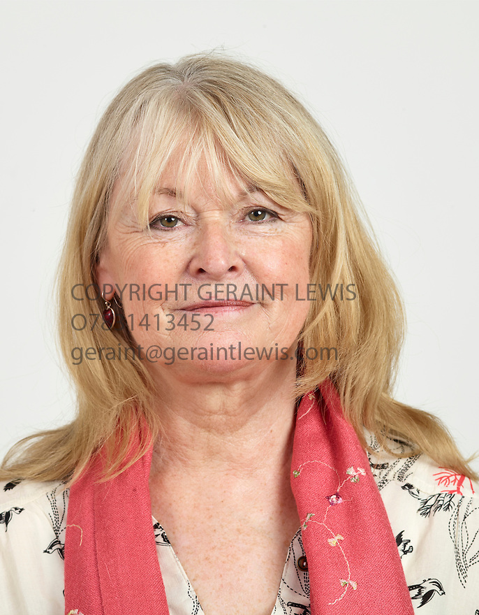 Sue Cook broadcaster and novelist and writer of On Dangerous Ground. CREDIT Geraint Lewis