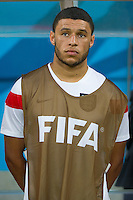 Alex Oxlade-Chamberlain of England starts on the bench