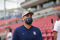 SANDY, UT - JUNE 10: John Brooks #6 of the United States before a game between Costa Rica and USMNT at Rio Tinto Stadium on June 10, 2021 in Sandy, Utah.