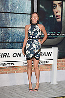 "Samantha Murray<br /> at the premiere of ""The Girl on the Train"", Odeon Leicester Square, London.<br /> <br /> <br /> ©Ash Knotek  D3156  20/09/2016"