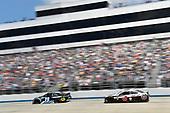 #19: Martin Truex Jr., Joe Gibbs Racing, Toyota Camry Sirius XM, #4: Kevin Harvick, Stewart-Haas Racing, Ford Mustang Jimmy John's
