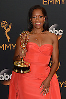 LOS ANGELES - SEP 18:  Regina King at the 2016 Primetime Emmy Awards - Press Room at the Microsoft Theater on September 18, 2016 in Los Angeles, CA