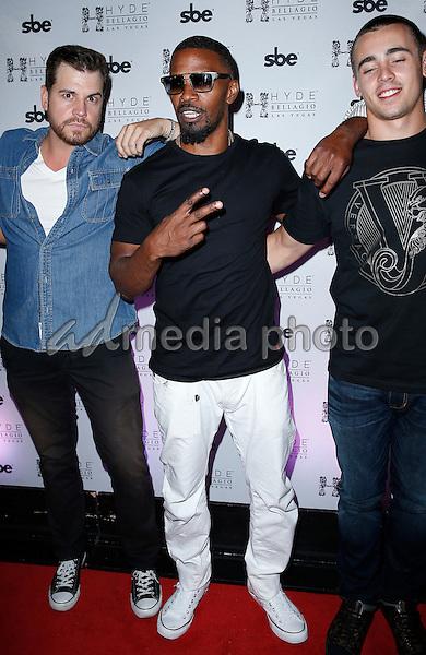 11 July 2015 - Las Vegas, Nevada - Jamie Foxx.  Jamie Foxx at Hyde Bellagio.  Photo Credit: MJT/AdMedia