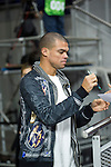 Real Madrid´s Pepe during 2014-15 Euroleague Basketball match between Real Madrid and Galatasaray at Palacio de los Deportes stadium in Madrid, Spain. January 08, 2015. (ALTERPHOTOS/Luis Fernandez)