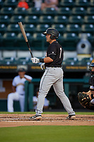 Jupiter Hammerheads Nick Fortes (7) during a Florida State League game against the Bradenton Marauders on April 19, 2019 at LECOM Park in Bradenton, Florida.  Bradenton defeated Jupiter 7-1.  (Mike Janes/Four Seam Images)