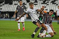 Rio de Janeiro (RJ), 05/07/2020 - Fluminense-Botafogo - Bruno Nazario (e) e Egidio (d). Partida entre Fluminense e Botafogo, válida pela semifinal da Taça Rio, realizada no Estádio Nilton Santos (Engenhão), na zona norte do Rio de Janeiro, neste domingo (05).