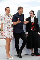 CANNES, FRANCE - JULY 15, 2021: Bree Elrod, Sean Baker, Suzanna Son at photocall for 'Red Rocket' during the 74th Cannes Film Festival held at the Palais des Festivals in Cannes, France.<br /> CAP/GOL<br /> ©GOL/Capital Pictures