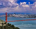 Storm Clouds, San Francisco Bay, San Francisco, California