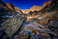 Lake of Glass in Rocky Mountain National Park, Colorado