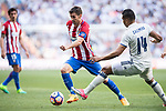 Gabriel Fernandez Arenas, Gabi, of Atletico de Madrid in action during their La Liga match between Real Madrid and Atletico de Madrid at the Santiago Bernabeu Stadium on 08 April 2017 in Madrid, Spain. Photo by Diego Gonzalez Souto / Power Sport Images