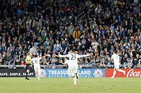 St. Paul, MN - Sunday October 20, 2019: Los Angeles Galaxy advanced to the 2019 Western Conference semifinals of the MLS Cup Playoffs with a 2-1 win over Minnesota United FC at Allianz Field.
