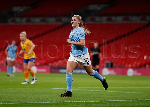 1st November 2020; Wembley Stadium, London, England; Womens FA Cup Final Football, Everton Womens versus Manchester City Womens; Jess Park of Manchester City Women