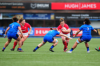 Siwan Lillicrap of Wales in action during the Women's six nations championship match between the Wales and Italy at Cardiff Arms Park in Cardiff, Wales, UK. Sunday 02 February 2020