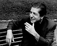 The sensuality's still there: Leonard Cohen relaxed on a park bench at the Inn on the Park as he talked to Peter Goddard about the concert tour that brings him to Massey Hall on May 11. He talked about being a musician, playing in a country band and living in Nashville for a couple of years<br /> <br /> .<br /> Innell, Reg<br /> Picture, 1985<br /> <br /> <br /> Toronto Star Archives - AQP